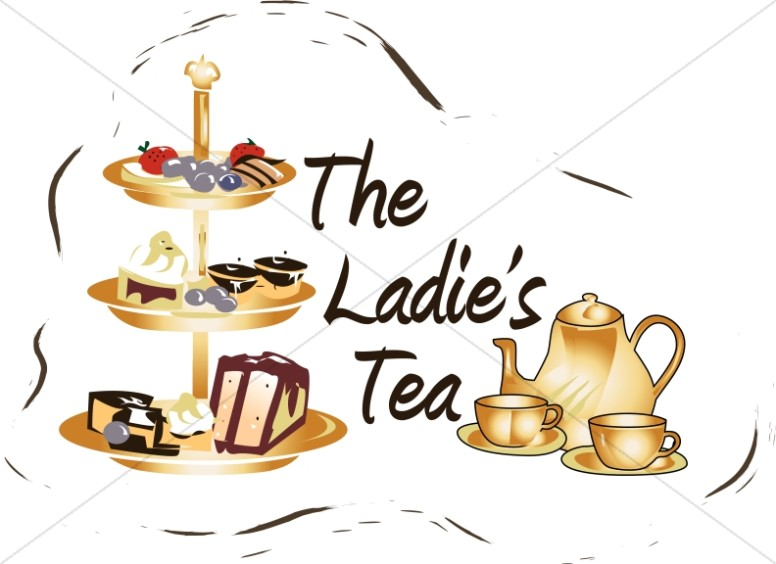 Women s luncheon clipart images clip library Ladies Tea Clipart   Women\'s Ministry Word Art clip library
