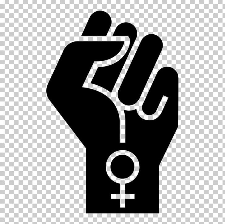 Women s march black and white clipart