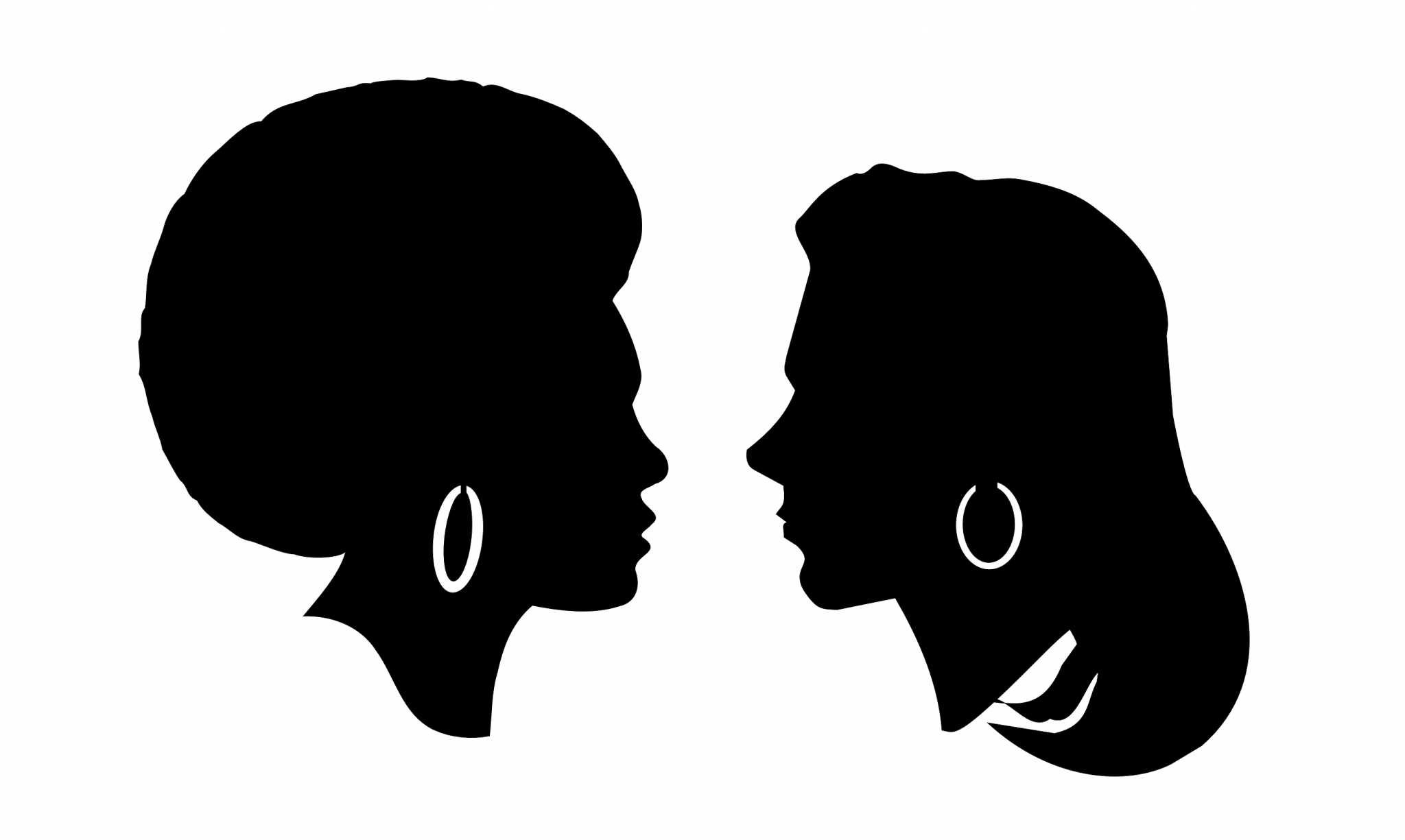 Women s march black and white clipart svg transparent stock Black women can\'t relate to SF Women\'s March – Golden Gate ... svg transparent stock