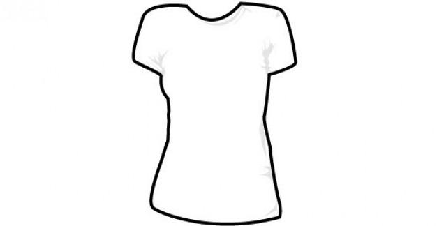 Women s shirt clipart clipart transparent download 18 Women Shirt Template Vector Free Images - Women\'s T ... clipart transparent download