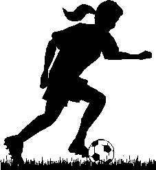 Women s soccer clipart svg royalty free library Womens soccer clipart 7 » Clipart Portal svg royalty free library