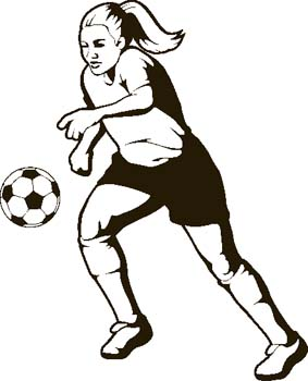 Women s soccer clipart svg freeuse stock Free Girls Soccer Cliparts, Download Free Clip Art, Free ... svg freeuse stock