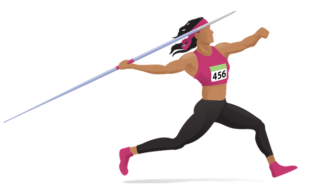Women s track clipart vector free download Women\'s Javelin | Clipart | PBS LearningMedia vector free download