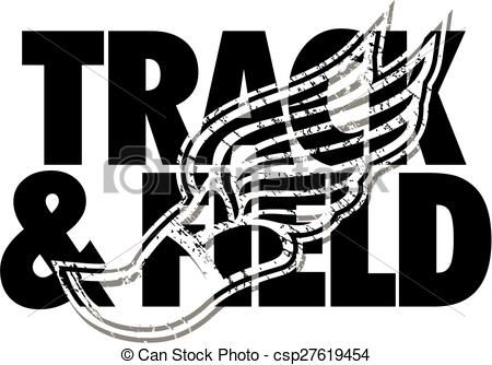 Women s track clipart png library stock Vector - track & field design - stock illustration, royalty ... png library stock