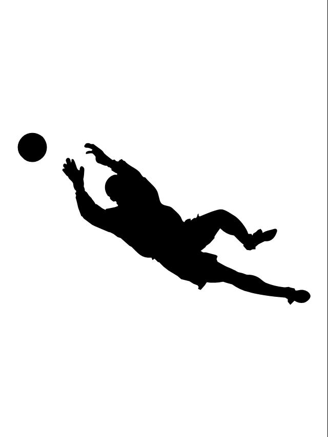 Women soccer goalkeeper clipart svg freeuse download Free Soccer Silhouette Girl, Download Free Clip Art, Free ... svg freeuse download