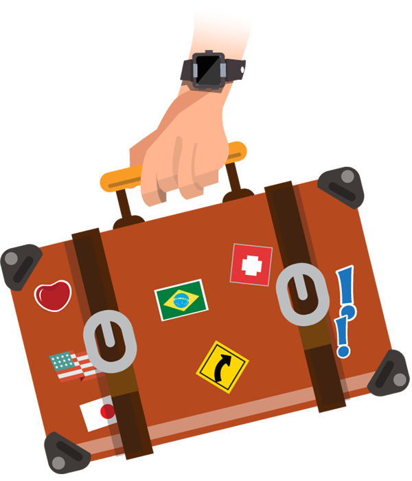 Women traveling caricatures clipart png free library Traveling clipart woman traveler, Traveling woman traveler ... png free library