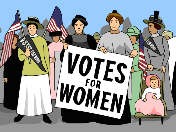 Women vote clipart clip art black and white download Women\'s Suffrage - BrainPOP clip art black and white download