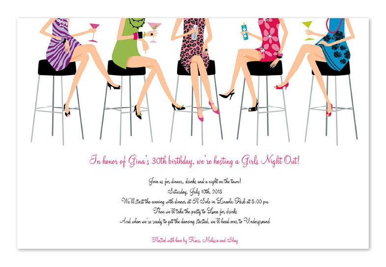 Womens christmas party invitation clipart image library download Ladies Night | Ideas/Inspiration in 2019 | Ladies night ... image library download