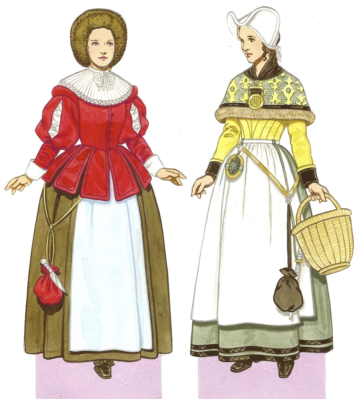 Womens clothing elizabethan era clipart vector freeuse History of Costume | European Fashion Through the Ages vector freeuse