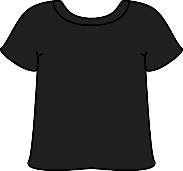Womens crown clipart black and white banner transparent stock Black T Shirt Silhouette at GetDrawings.com   Free for personal use ... banner transparent stock