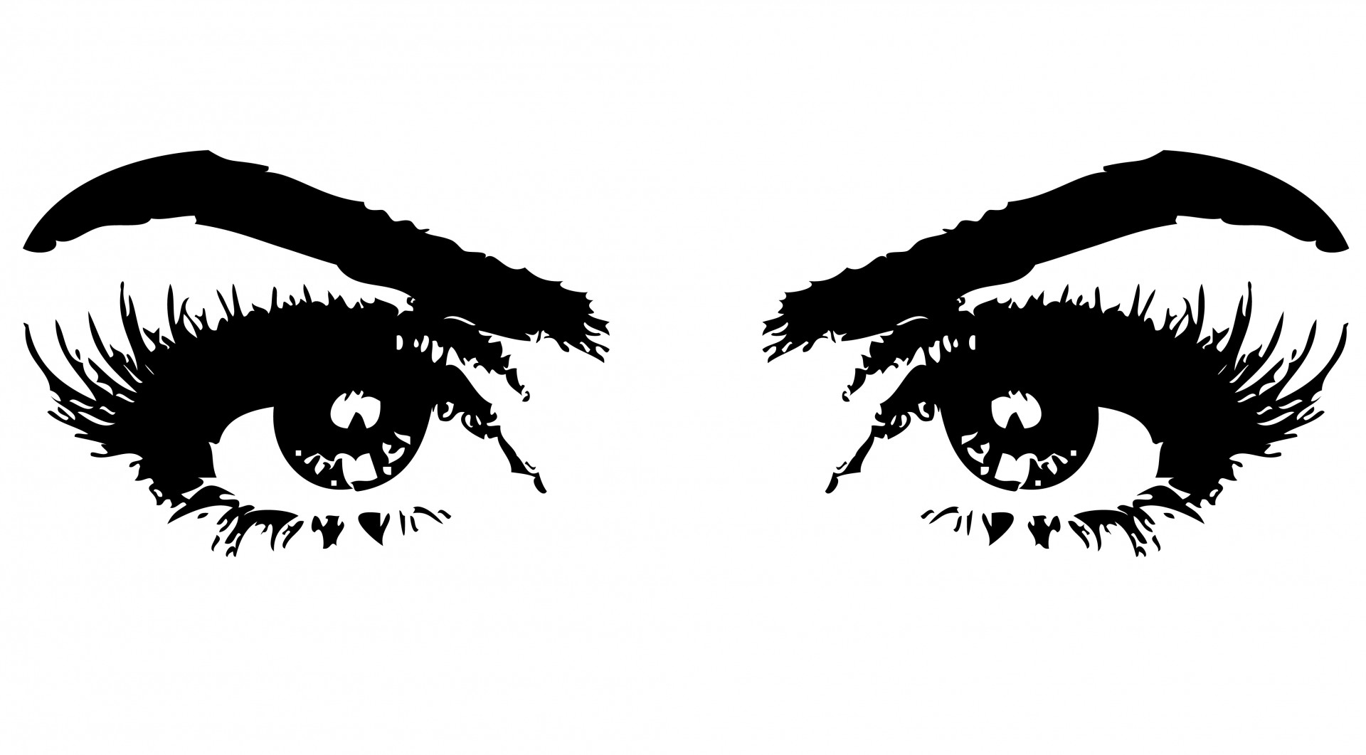 Womens eyes with lashes clipart free stock Free Eyelashes Cliparts, Download Free Clip Art, Free Clip ... free stock