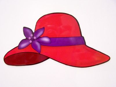 Womens hat clipart red hatters banner freeuse library Free clip art   Stuff I want to make   Red hat society, Red ... banner freeuse library