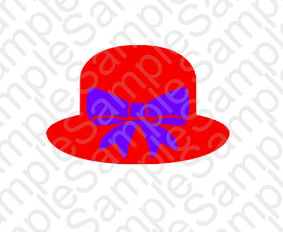 Womens hat clipart red hatters banner transparent library Red Hat Society Inspired SVG and DXF Cut Files   Red Hat ... banner transparent library