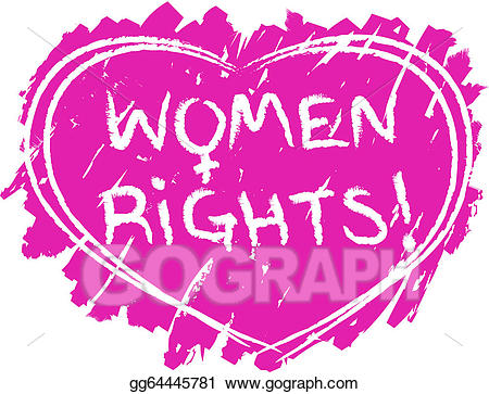 Women-s rights cliparts png free Vector Stock - Women rights symbol. Clipart Illustration ... png free