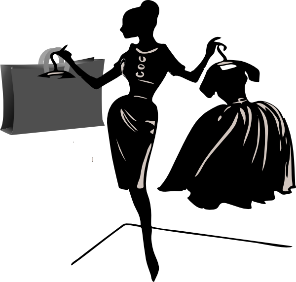 Womens shopping clipart clipart stock Woman Shopping | Women shopping clip art | Shop a Lot ... clipart stock