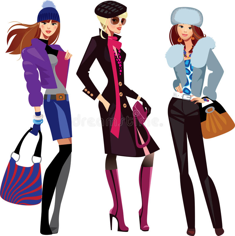 Womens shopping clipart graphic transparent Fashion clipart lady clothing - 67 transparent clip arts ... graphic transparent