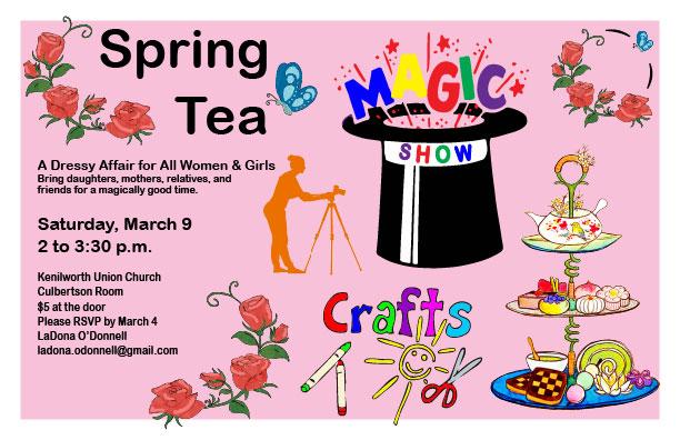 Womens tea invitation clipart clip art 2019-spring-tea-invite - Kenilworth Union Church clip art
