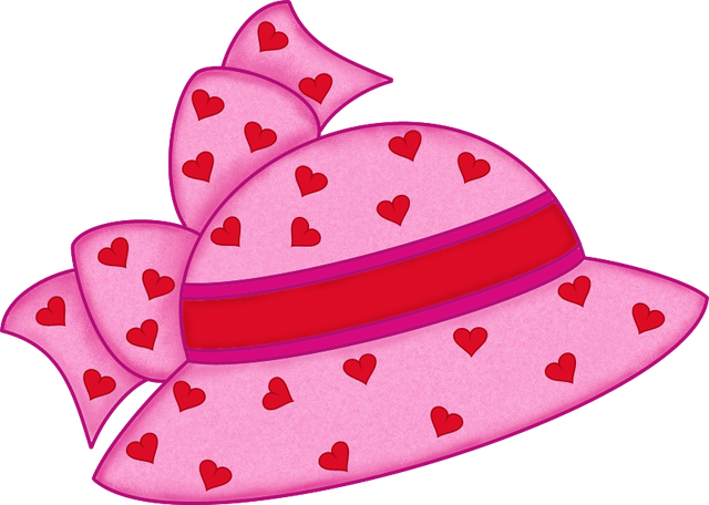 Womens wedding hat clipart picture library library Find Tons of Free Clip Art Images for Valentine\'s Day | Shoe ... picture library library
