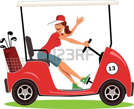 Ladies golf clipart images vector free download Stock Vector | Sports | Golf carts, Golf cart accessories ... vector free download