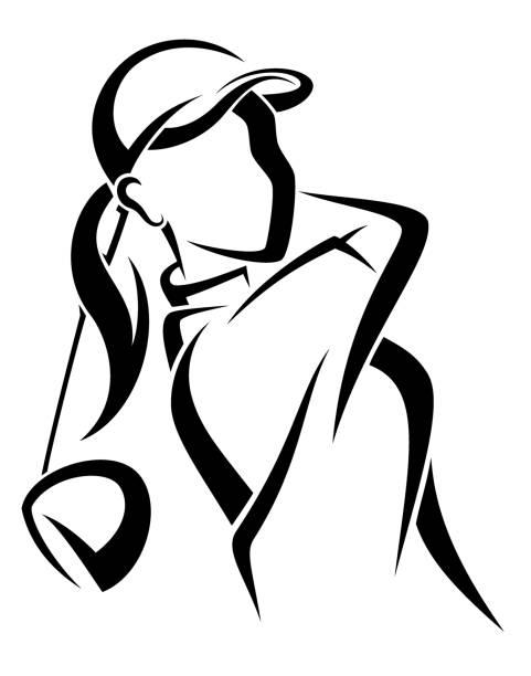 Womensgolf clipart vector free stock Women golf clipart 3 » Clipart Station vector free stock