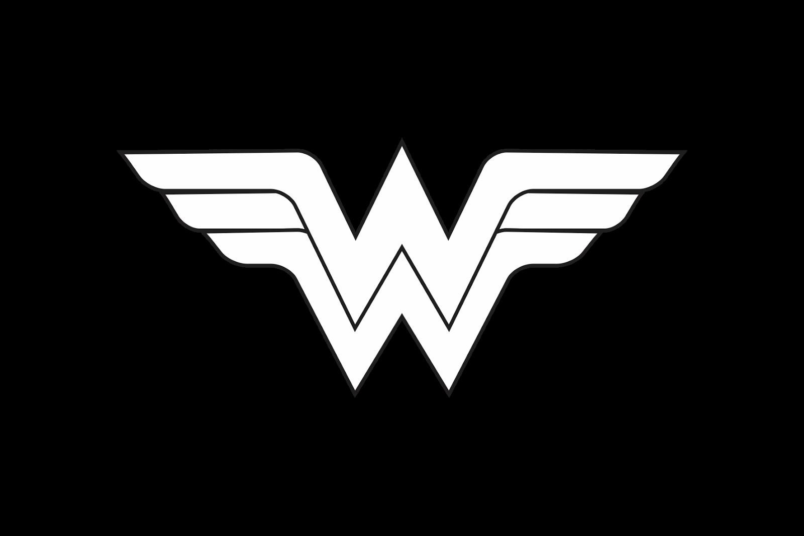 Wonder woman crown clipart black and white jpg free Wonder Woman Black And White Clipart #2167861 jpg free
