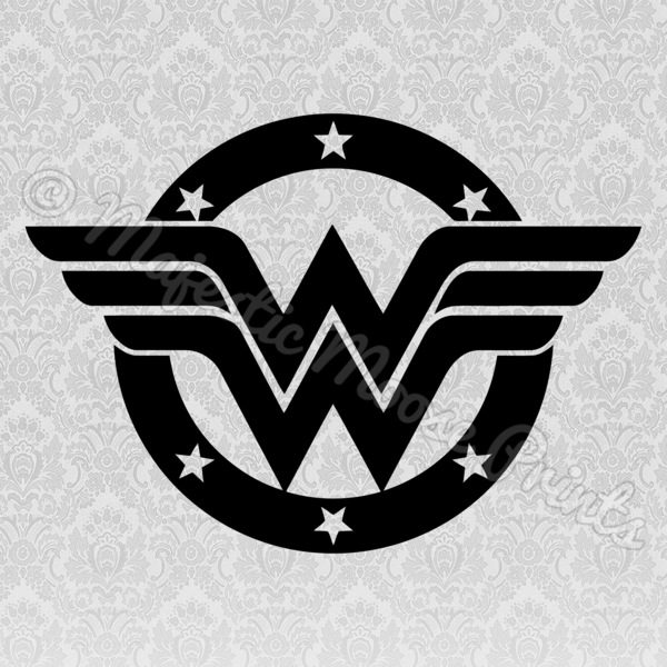 Wonder woman crown clipart black and white png black and white library Wonder Woman SVG | SVG Files for Cricut | Pinterest | Wonder Woman ... png black and white library