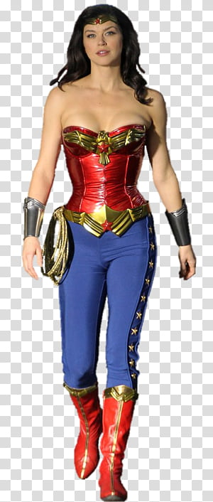 Wonder woman rope clipart png black and white Gal Gadot As Wonder Woman, Wonder Woman Left transparent ... png black and white