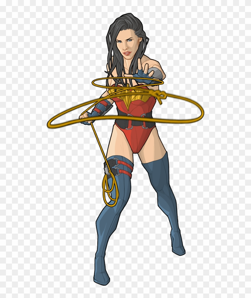 Wonder woman rope clipart black and white Free Png Download Lasso Throw Png Images Background - Wonder ... black and white
