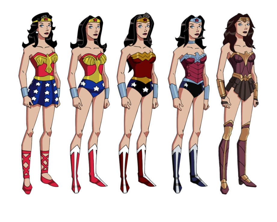 Wonder woman rope clipart clip art black and white library Wonder Woman Costume Comics, Transparent Png Download For ... clip art black and white library