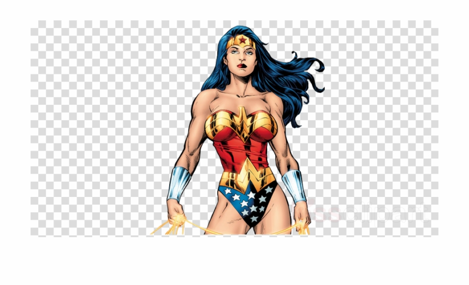 Wonder woman she can do it clipart vector black and white stock Download Wonder Woman Comic Png Clipart Gal Gadot Wonder ... vector black and white stock