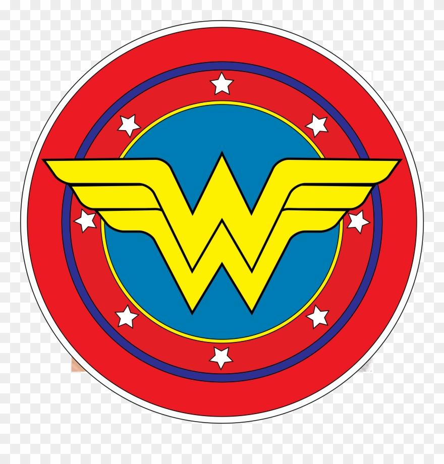 Wonder woman tiara clipart banner royalty free stock Wonder Woman - Wonder Woman Logo Png Clipart (#1353025 ... banner royalty free stock