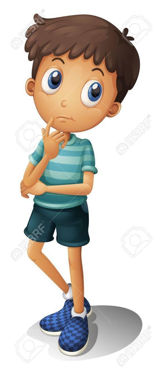 Wondering kid clipart vector free Kid wondering clipart 8 » Clipart Portal vector free