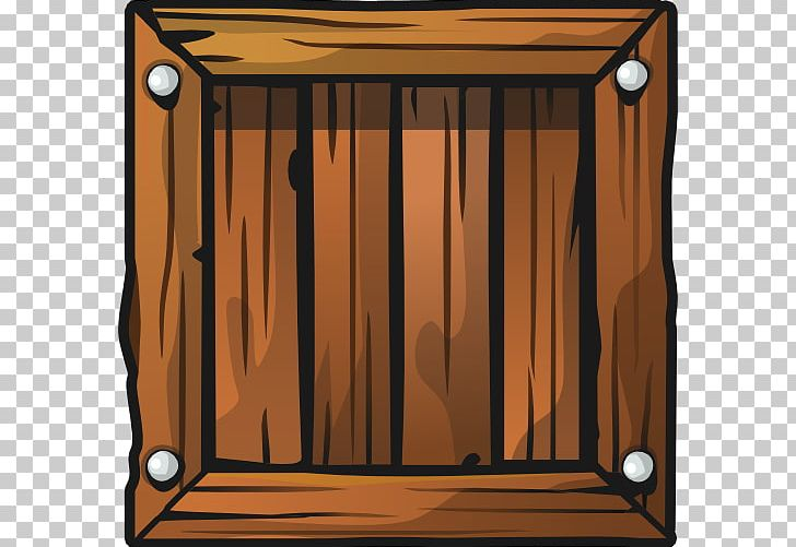 Wood animal crate clipart