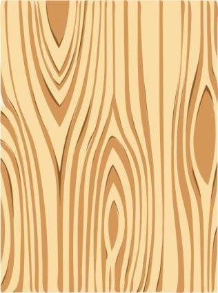Wood print clipart