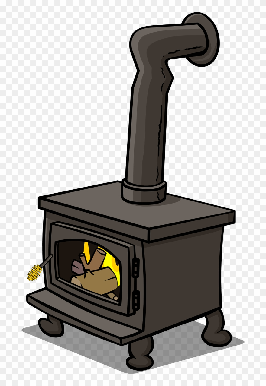 Wood burning stove clipart images svg black and white stock A Woodburner Will Keep You Warm And Feed You When The - Wood ... svg black and white stock