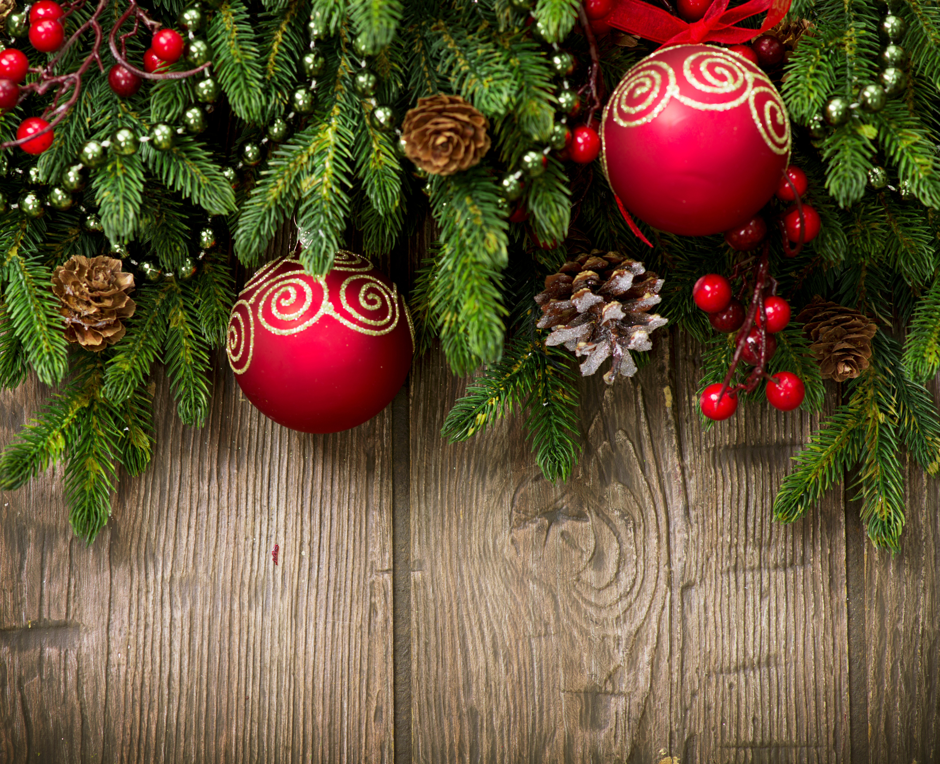 Wood christmaas clipart banner library stock Wooden Christmas Background with Ornaments | Gallery ... banner library stock