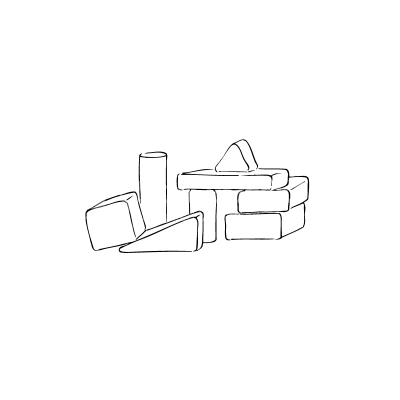 Wood clipart doodle stock Wood brick Doodle Black and White Vector Clipart - Clipart ... stock