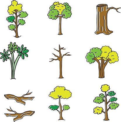 Wood clipart doodle graphic transparent Doodle of Tree and Wood premium clipart - ClipartLogo.com graphic transparent