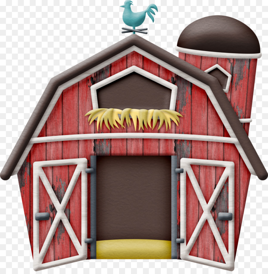 Wood farm house clipart banner black and white Chicken Cartoon clipart - Cattle, Farm, House, transparent ... banner black and white