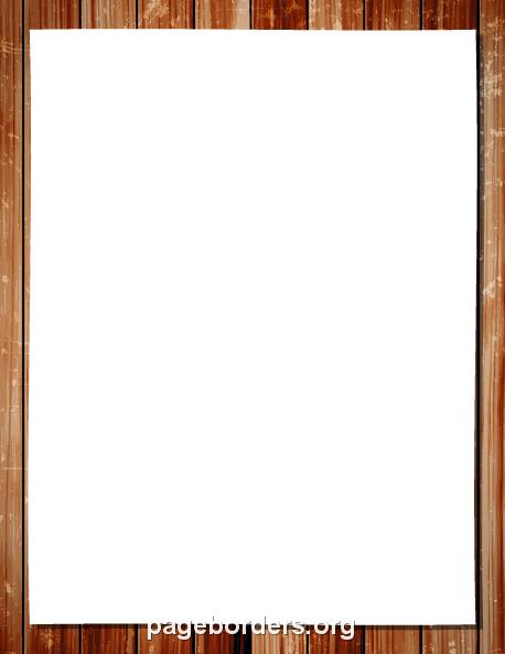 Wood frame border clipart banner free stock Wood Frame Border: Clip Art, Page Border, and Vector Graphics banner free stock