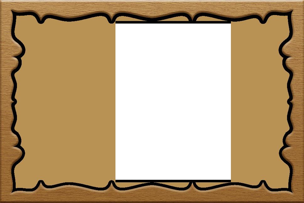 Wood frame border clipart image royalty free download Transparent Vintage Frameborder | Pattern::Clover | Borders ... image royalty free download