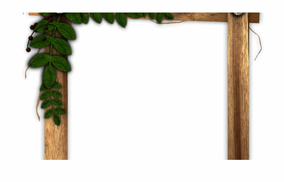 Wood frame border clipart graphic download Rustic Border Png - Rustic Transparent Wood Frame Free PNG ... graphic download