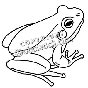 Wood frog clipart vector library stock Frog Black And White Clipart | Free download best Frog Black ... vector library stock