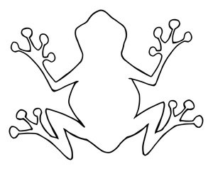 Wood frog clipart picture transparent stock Frog black and white free frog clipart image 2 4 – Gclipart.com picture transparent stock
