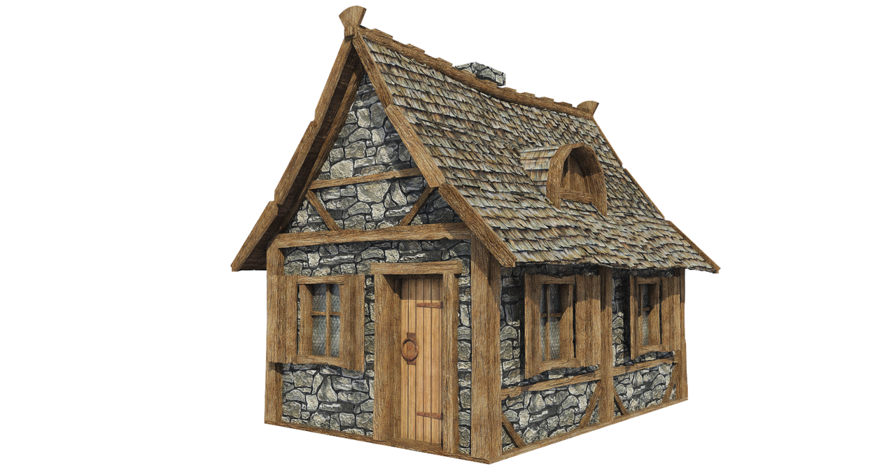 Wood house with chimney clipart image free download Wooden House PNG Picture | PNG Mart image free download