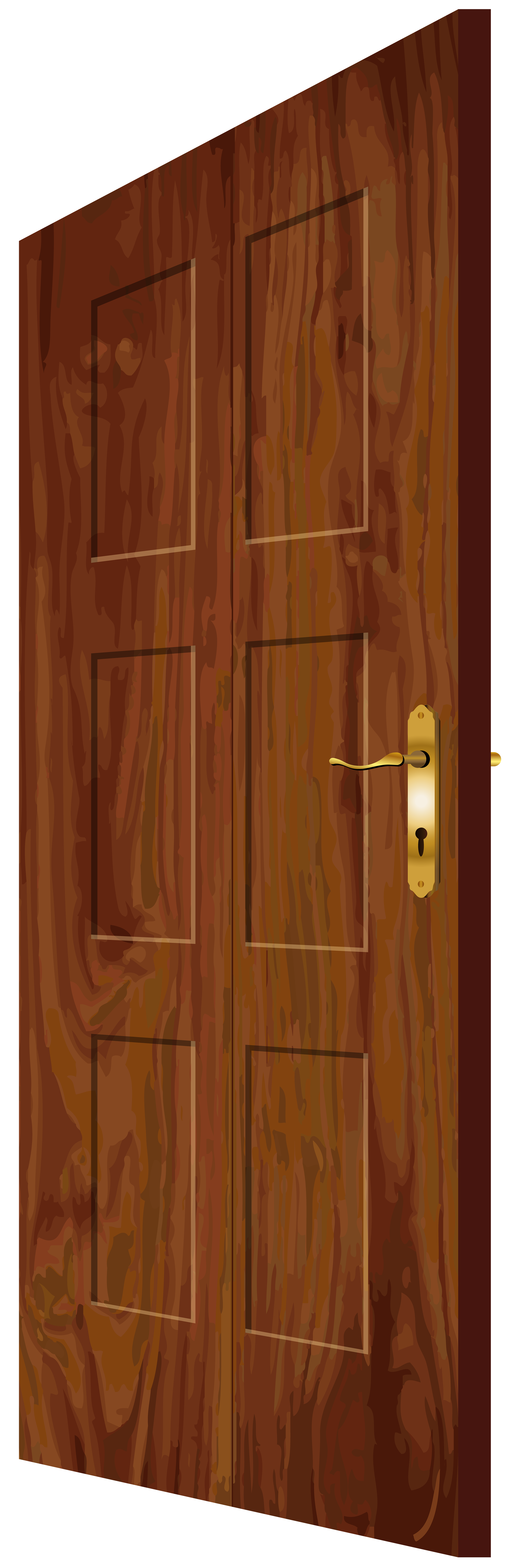 Wood house clipart free stock Wooden Door PNG Clip Art - Best WEB Clipart free stock