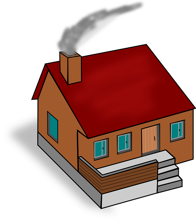 Wood house with chimney clipart image library Blog | St John Chimney Sweeps image library