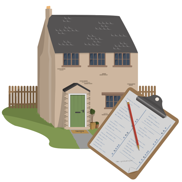 Wood house with chimney clipart vector library Chimney Sweeping in Devon vector library