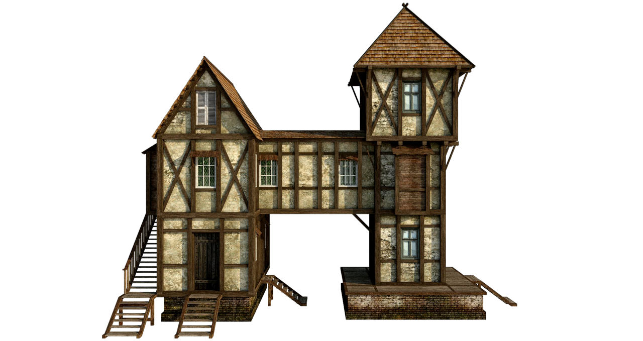 Wood house with chimney clipart svg free library Wooden House PNG Free Download | PNG Mart svg free library