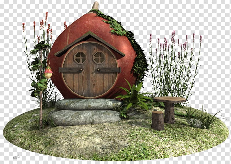 Wood landscaping clipart png royalty free library Garden House Fairy Backyard, house transparent background ... png royalty free library
